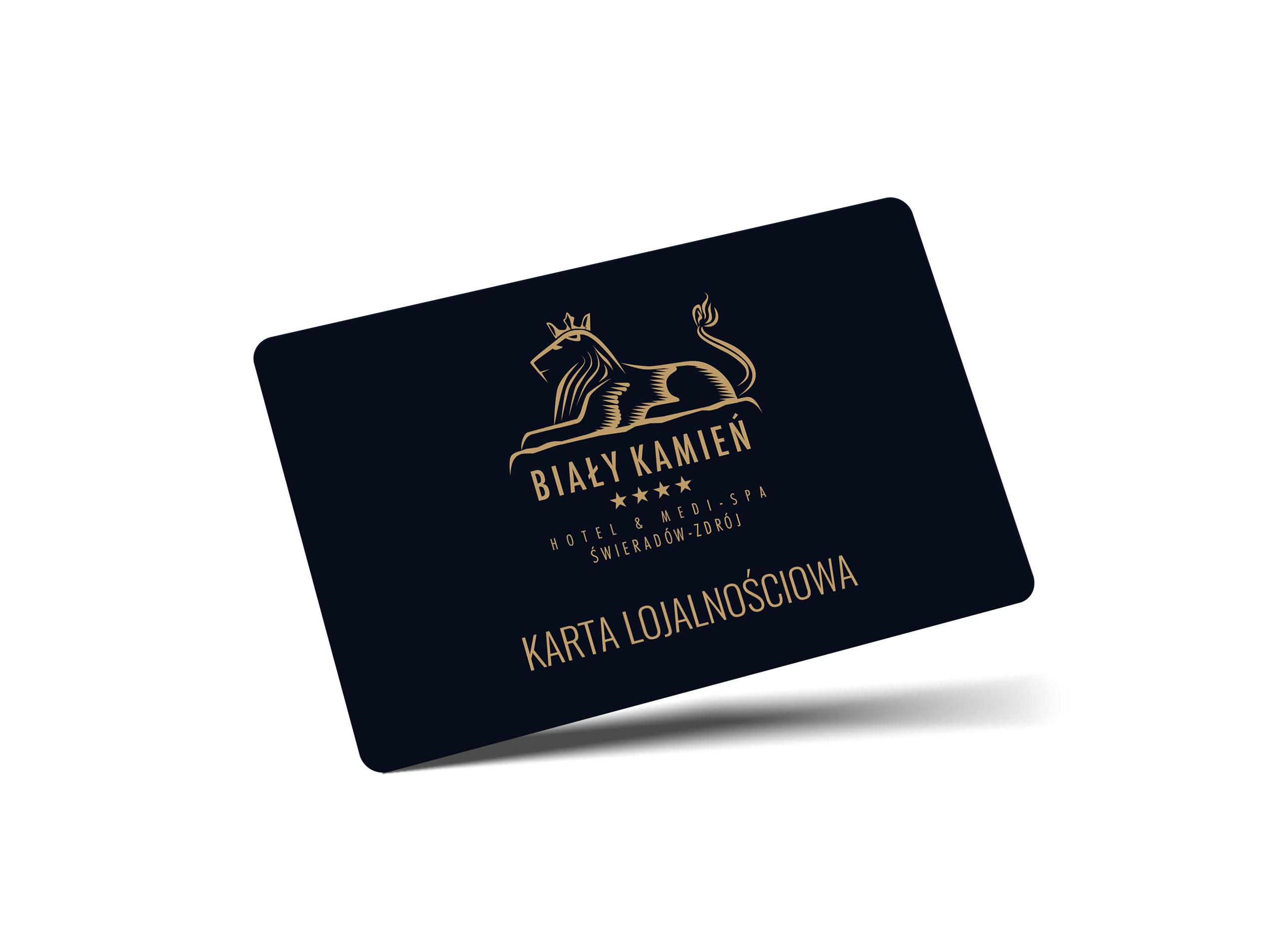 Karta programu lojalnościowego Hotelu & Medi-SPA Biały Kamień